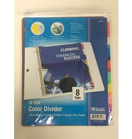 8 Tab Color Divider