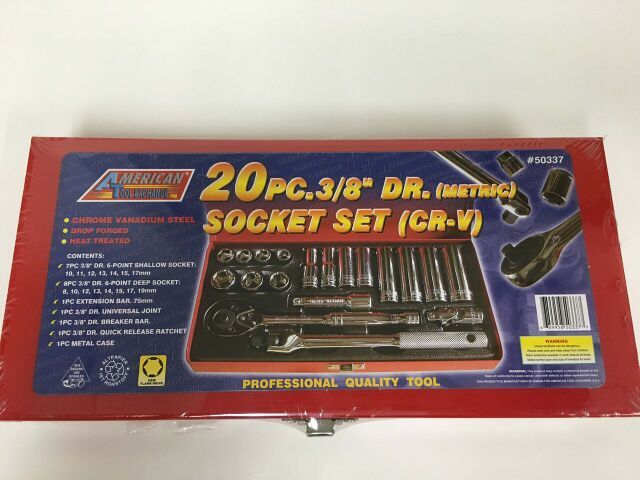 ATE 20pc Socket Set