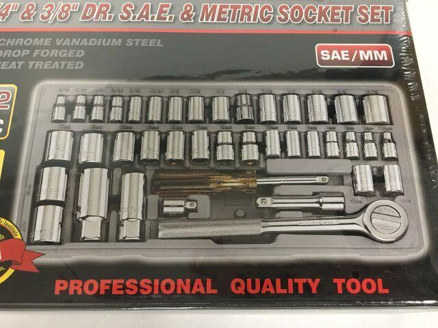 ATE 42pc Metric Socket Set