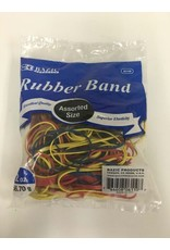 Bazic Assorted Rubberbands