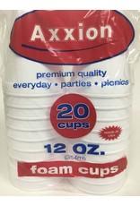 Axxion Axxion 20 Foam Cups 12oz