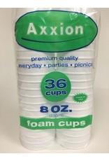 Axxion Axxion 36 Foam Cups 8oz