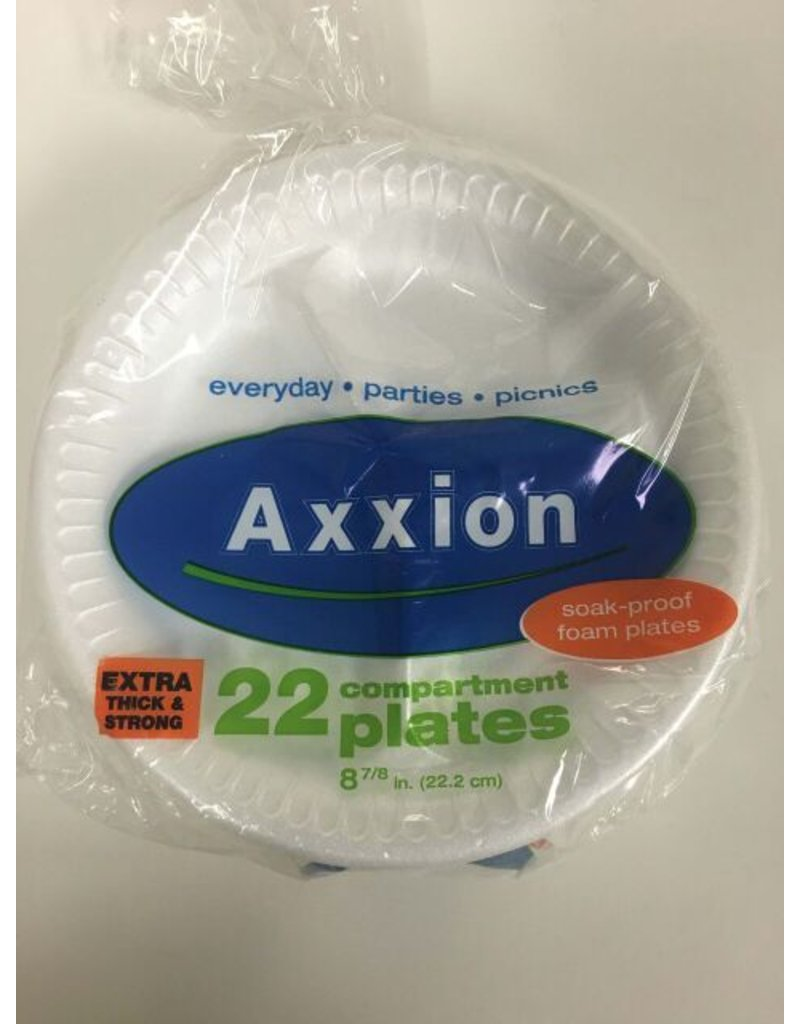 Axxion Axxion Compartmentalized Plates