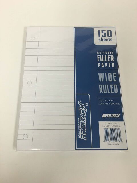 Promarx Binder Paper Wide Ruled