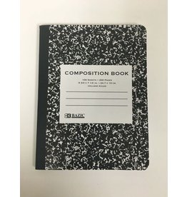 Bazic Standard Black Composition Book