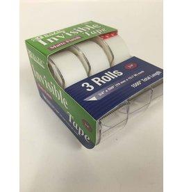 Bazic Invisible Tape 3 Rolls