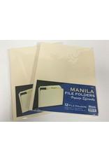 Bazic Manila File Folders