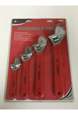 ATE 4pc Adjustable Wrench Set