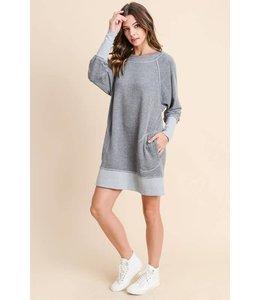 Doe & Rae Dolman Sweater Dress
