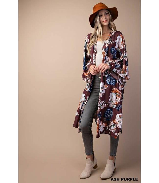 Kori America Flowy Sleeve Kimono