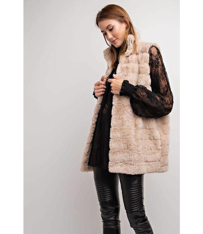 Easel Faux Fur Vest