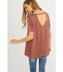 Wishlist Cut-out T Shirt