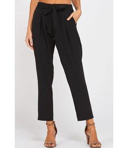 Wishlist Pleated Bow Pants