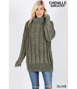 Zenana Over sized Chenille sweater