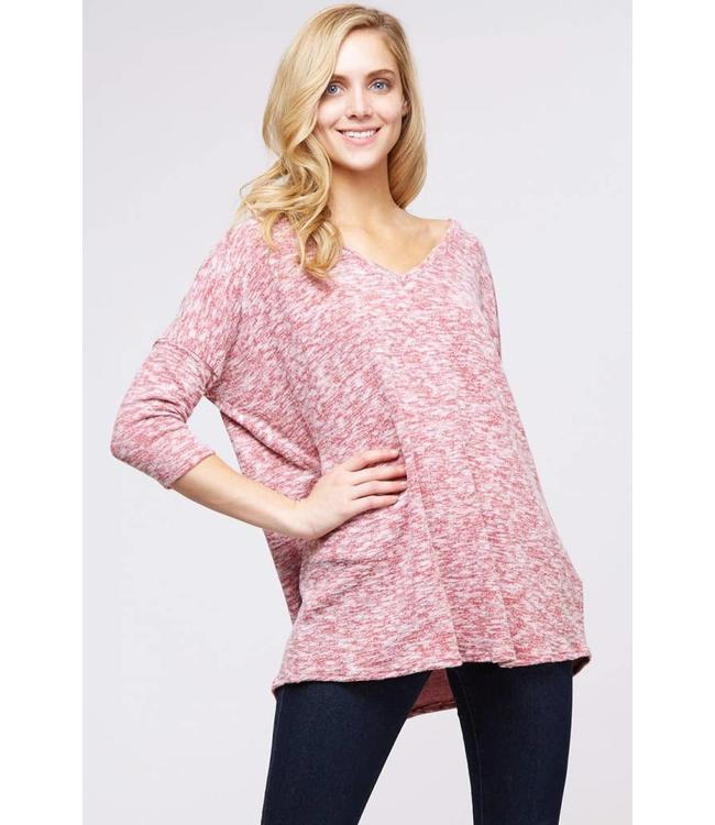 Peach Love Karen Top
