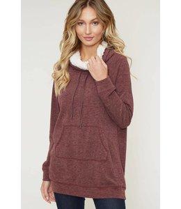 Peach Love The Joan Sweater KT21650