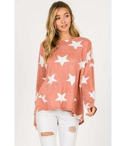 Hopely Oversized Star Sweater ht8611