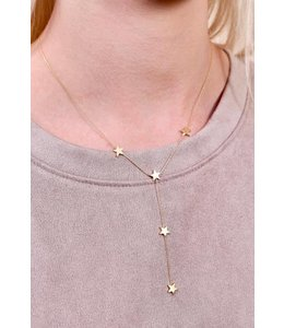 Caroline Hill Y Necklace w/ Stars N13537