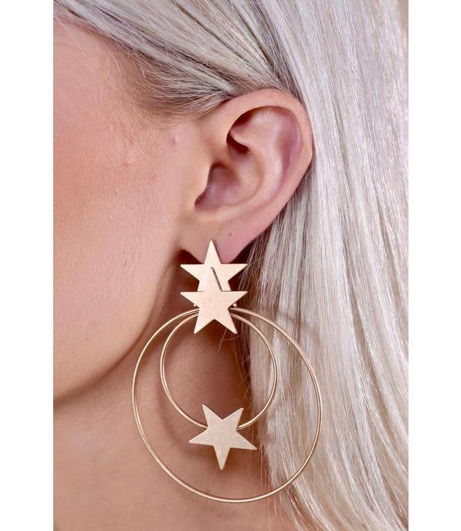 Caroline Hill Star is Born Hoops E13493-G