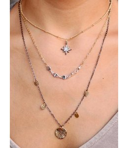 Caroline Hill 3 Layer Necklace N12600-Mx