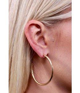 Caroline Hill E13558 Big Hoop Earring Gold