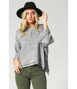 Soul Threads Loose Fit Top w/ Bell Sleeves