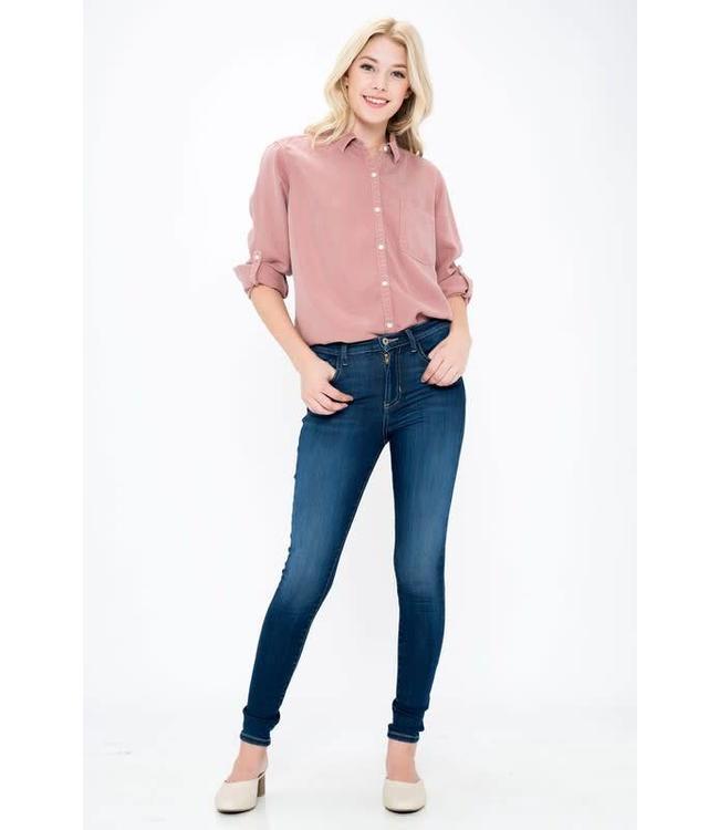 Sneak Peek Denim Basic High Rise Skinny Jeans SP-P1006