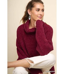 PODOS Chenille Sweater
