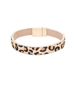 Suzie Q Leopard Pattern Bracelet 112BR727