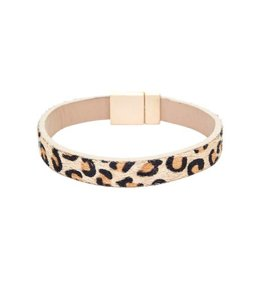 Suzie Q Leopard Pattern Bracelet
