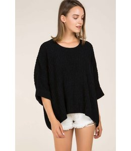 POL Oversized Dolman Sweater