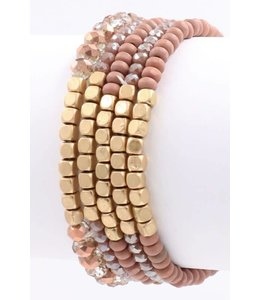 ARTBOX 5 Strand Bead Bracelet