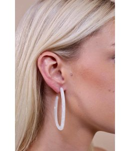 PODOS Resin Oval Hoops