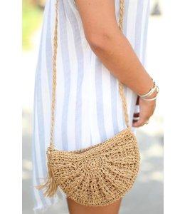 PODOS Beach Baby Straw Bag