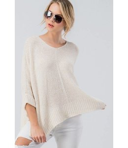 PODOS Dolman Sleeve Sweater