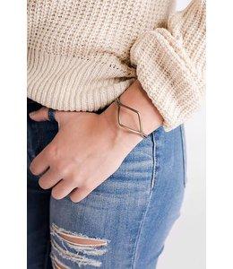 PODOS Geometric Cuff Bracelet