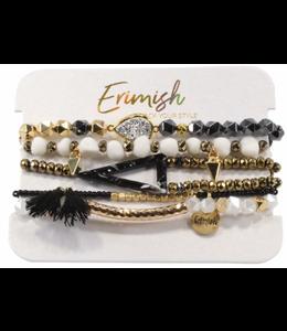 ERMISH Fruit Loop Beaded Bracelet Set