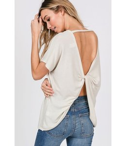 PODOS Twist Back Top