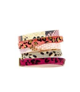 ERMISH Leaping Leopard Cuff Bracelet