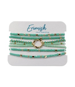 ERMISH Erimish Beaded Bracelet Set Cards