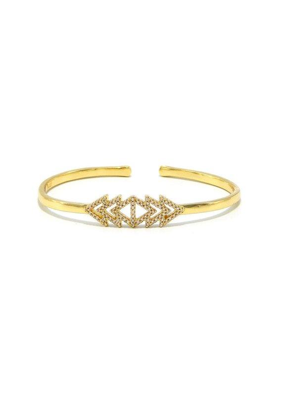 ERMISH Arrow Cuff Bracelet