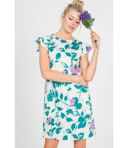 PODOS Floral Knit Shift Dress