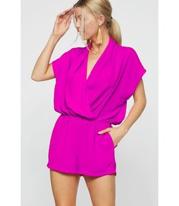 PODOS Wrap Front Romper