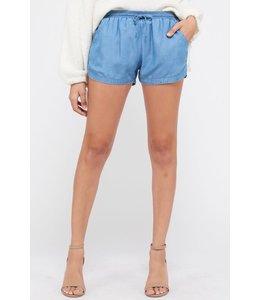 PODO'S Tencel Shorts w/ Pockets