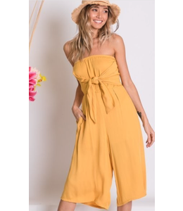 PODOS Cropped, Wide Leg Jumpsuit