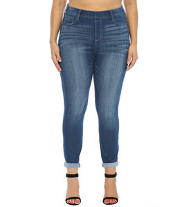 PODOS Mid Rise Pull-On Crop Skinny's