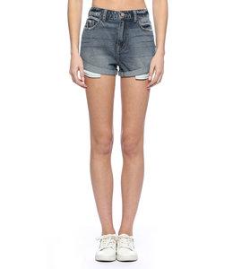PODOS High Rise Shorts w/ Rolled Cuff