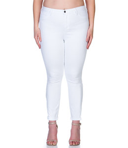 PODOS White Denim Skinny