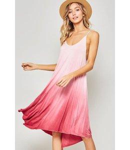 PODOS Ombre Asymmetrical Dress