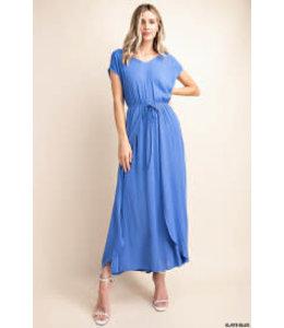PODOS Wrap Maxi Dress